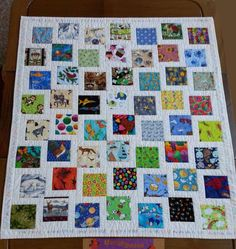 "Have you ever played the ""I Spy"" game? Did you play it as a child? Well, I was in the dark until I came across a quilt named I Spy. The more I looked at it, I realized it was a great te…"