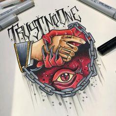 non te fida de nessuno - tattooss ideas Wolf Tattoos, Tattoos Motive, Animal Tattoos, Body Art Tattoos, New Tattoos, Hand Tattoos, Tattoos For Guys, Sleeve Tattoos, Arrow Tattoo