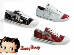 BETTY BOOP SHOES - yes! would love the black ones and like the red as well