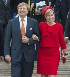 MYROYALS  FASHİON - King Willem-Alexander and Queen Máxima  visit the provinces of Zeeland and  Zuid  Holland.