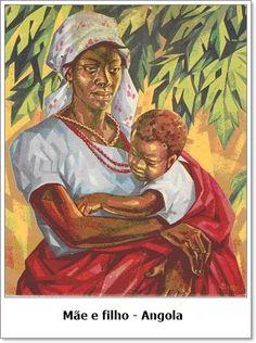 Mãe e filho - Angola