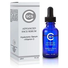 Hyaluronic Acid Serum With Vitamin C 1FL Oz  #CSCS