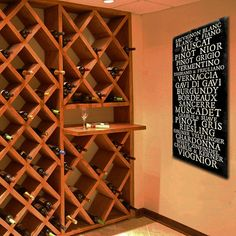 For the wine lover ... vintage look ... Wine Cellar Bus Roll