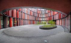 Foundation for office buildings in Cologne by Sauerbruch Hutton