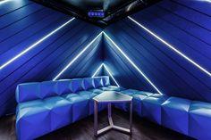LEXY Nightclub by Dyer-Smith Frey Zürich  Switzerland
