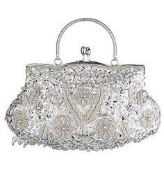 MG Collection Antique Retro Flower Garden Handbag