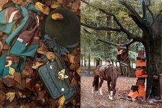 http://pegasebuzz.com/leblog/ | Horse in Fashion by Ditte Isager for The Horse Rider's Journal, winter 2012 issue