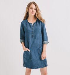 Robe en jean Femme jean brut - Promod