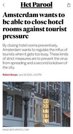 Amsterdam, June, News