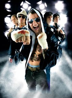 Johnny Christ, Synyster Gates, M. Shadows, Arin Ilejay & Zacky Vengeance - Avenged Sevenfold