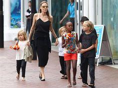 SPOTTED: The Jolie-Pitt family rocking their Havaianas!