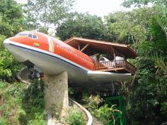 10 quirky hotels - from aeroplanes to oil platforms and castles