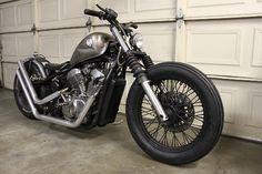 Bobber Inspiration | Honda Shadow 600 bobber | Bobbers and Custom Motorcycles