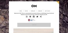 Om Blogger Template é um template blogger para blog pessoal, fotografia e etc. Com layout responsivo, Om tem 1 coluna, sem sidebar, 2 colunas de rodapé, botões de redes sociais, posts relacionados, locais para posicionar anúncios e muito mais.