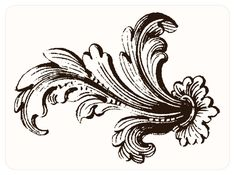 Vine Tattoos, Body Art Tattoos, Clipart, French Signs, Lace Tattoo, Paper Ornaments, Drawing Practice, Fractal Art, Art Tutorials