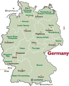 A Map Of German States Girl Scouts Pinterest Genealogy - Germany map timeline