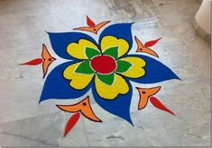 Today I am sharing with you a Rangoli design for diwal, Rangoli Design Patterns and Diwali Rangoli Photos. Pictures of Rangoli with Flower, rangoli design for diwali Easy Rangoli Designs Diwali, Indian Rangoli Designs, Rangoli Designs Flower, Free Hand Rangoli Design, Small Rangoli Design, Rangoli Patterns, Rangoli Ideas, Flower Rangoli, Mehndi Designs