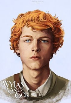 Finally we have our sixth crow, Wylan van Sunshine. All that's left to do now is throw them all together so they can judge you in unison. I love my murder kids.        He's so WHOLESOME looking    View more on Leigh Bardugo's website »    Goodreads | Leigh Bardugo's Blog - cryingmanlytears: Wylan Van Eck | Six of Crows Matthias | Nina... - April 03, 2017 14:00