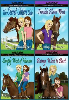 Sarit Yahalomi: Ginnie West Adventures Book Blast (Oct 28 to 30)