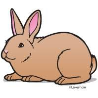 cartoon bunny use these free images for your websites art rh pinterest com clip art rabbit track clip art rabbit track