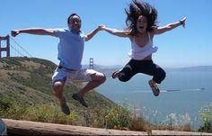 Aurélien et Isabelle - Golden Gate National Recreation Area, San Francisco, California, USA /