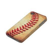Vintage baseball ball case-mate iphone 4