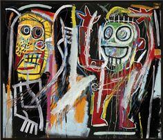 Jean-Michel Basquiat - Dust Heads