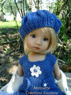 LITTLE DARLING DIANNA EFFNER HANDKNITTED OUTFIT by soudane, via Flickr