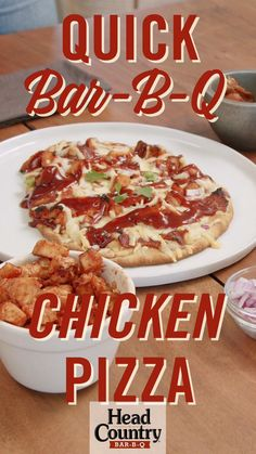 Grilled Pizza Recipes, Chicken Recipes, Snack Recipes, Dinner Recipes, Healthy Recipes, Chicken Works, Kids Meals, Easy Meals, Chicken Pizza
