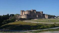Alrededores del castillo de Coca, Segovia