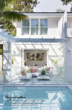 Backyard pool #AdoreMagazine