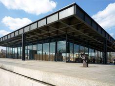 Mies van der Rohe Neue Nationalgalerie Berlin