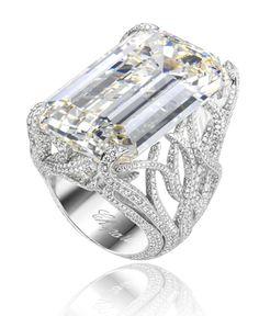 Chopard diamond ring - in other words, my engagement ring! I Love Jewelry, Jewelry Rings, Jewelry Accessories, Fine Jewelry, Jewelry Design, Jewellery, Summer Jewelry, Jewelry Making, Diamond Rings