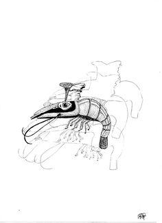 Shadows Shrimp?  - Muji 0,38 -Hugo CHAFFIOTTE