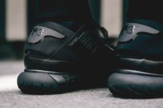"Adidas Y-3 Qasa High ""Black"". (via Wish Atlanta 