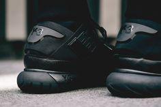 "Adidas Y-3 Qasa High ""Black"". (via Wish Atlanta | Coming Soon: adidas Y-3 Qasa High ""Black"")"