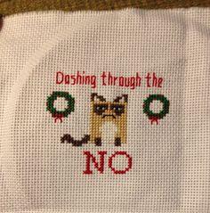 Dashing through the No ornament                                                                                                                                                                                 More