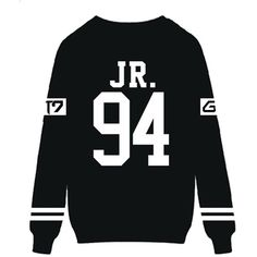 Kpop GOT7 Sweatshirt JB JR YOUNGJAE MARK Sweater Jacket Pullover ($17) ❤ liked on Polyvore featuring tops, sweater pullover and pullover tops
