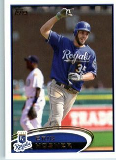 2012 Topps Baseball Card #35 Eric Hosmer - Kansas City Royals - MLB Trading Card by Topps. $0.99. 2012 Topps Baseball Card #35 Eric Hosmer - Kansas City Royals - MLB Trading Card