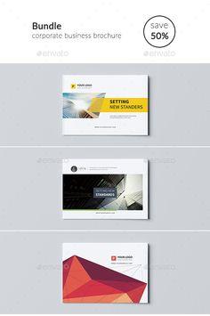 Business Brochure Template PSD Bundle. Download here: http://graphicriver.net/item/business-brochure-bundle/15077854?ref=ksioks