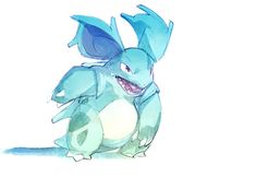 Watercolor Pokemon! on Behance Nidorina