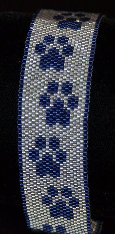 Beaded Paw Bracelet $35