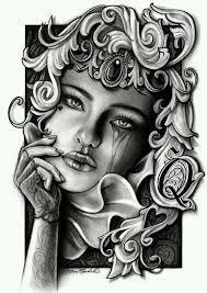Výsledek obrázku pro la muerte tattoo