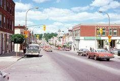 8 35mm Slides Toronto Street Scenes 1979 Cars Banks Stores Kodachrome Original