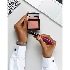 NARS Limited Edition Orgasm Blush ($30) ❤ liked on Polyvore featuring beauty products, makeup, pink and nars cosmetics