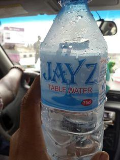 Jay Z Bottled Water