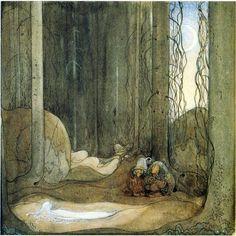 Tomtar och Troll , John Bauer