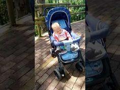 Bebé con mucho sueño - YouTube
