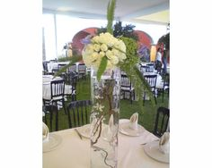 Centro de mesa alto/ Centros de mesa para boda