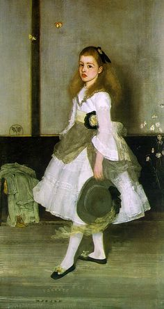 whistler - harmony in grey and green, miss cicely alexander - i've loved this painting all my life it seems